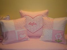 ALMOHADONES INFANTILES / Ideas para decorar dormitorio infantil - Decoractual - Diseño y Decoración