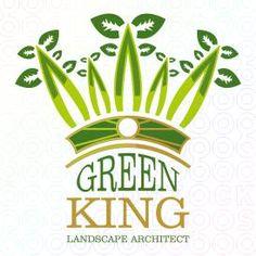 Green King logo by Serdal Sert