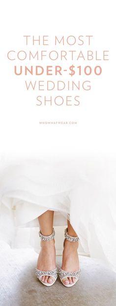 Shop: Comfortable wedding shoes