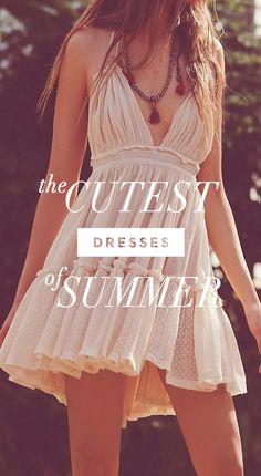 The Cutest Dresses Of Summer
