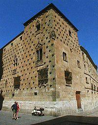 Spain. Salamanca (edificio Casa de las Conchas)