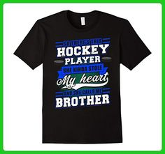 Mens So There's This Hockey Player She Calls Me Brother T-Shirt XL Black - Sports shirts (*Amazon Partner-Link)