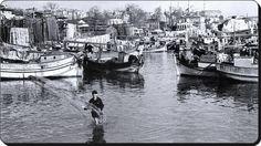 Ara Güler anı ölümsüzleştirmiş; Kumkapılı Ermeni Balıkçılar -1952