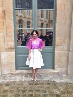 Look da Vic: Blusa Barbara Casasola. Vic Ceridono | Dia de Beauté