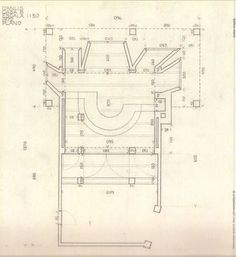 Jørn Utzon Can Lis Mallorca Architecture Drawings, Architecture Plan, Jorn Utzon, Scandinavian Architecture, Plan Drawing, Drawing Style, Drawing Ideas, Elevation Plan, Best Boats