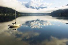 Belos reflexos na água (29 fotos) - Metamorfose Digital