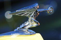 """1935 Packard """"Goddess of Speed"""" Hood Ornament Photograph by Jill Reger"""