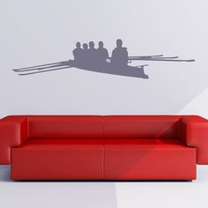 Racing Boat Silhouette Boats Wall Stickers Bathroom Home Decor Art Decals