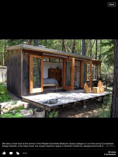 We already got Modern Tiny House on Small Budget and will make you swon. This Collections of Modern Tiny House Design is designed for Maximum impact. Modern Tiny House, Tiny House Cabin, Tiny House Design, Small Modern Cabin, Eco Cabin, Contemporary Cabin, Modern Bungalow, Modern Cottage, Cabin Design