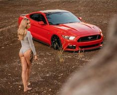 Sports cars are really popular not just to car racers but also to collectors and ordinary people. They are costly, no one would like to miss owning at least one model of sports vehicle. Mustang Girl, Ford Mustang Gt, Trucks And Girls, Car Girls, Girl Car, Us Cars, Sport Cars, Lamborghini, Ferrari