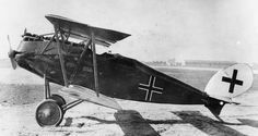 Halberstadt CLS I two-seat fighter - designed to fulfil a similar function to the successful Bristol F2B, this promising design had not yet entered Front line service by the end of the war.
