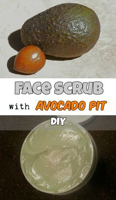 Face scrub with avocado pit - RealBeautyTips.org