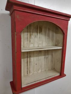 Shabby style wall shelf, primitive wall shelf,french country wall shelf, antique style wall shelf, d Farmhouse Living Room Furniture, Primitive Furniture, Country Furniture, Shabby Chic Furniture, Country Decor, Painted Furniture, Diy Furniture, Furniture Projects, Furniture Plans