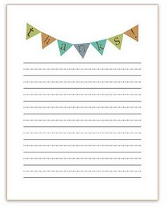 Printable Fill-in-the-Blank Thank You Notes via lilblueboo.com ...