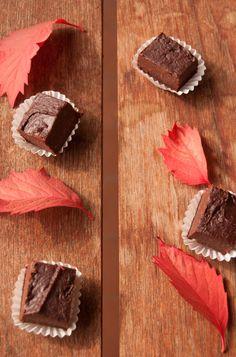 Pane e acqua di rose: cioccolatini ai marroni (Sweet chestnuts chocolate)