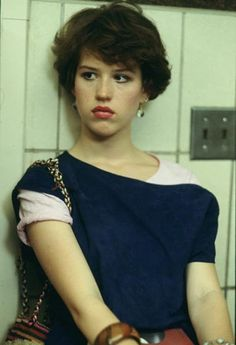 Molly Ringwald Fashion Sense. I absolutely love her in her younger days!