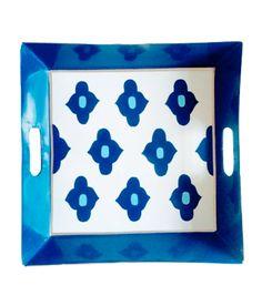 Moroccan Blue Tray