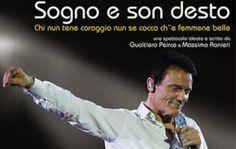 Sogno e son desto: spettacolo di e con Massimo Ranieri a Cagliari il 1 maggio 2015.