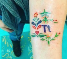 #tattoos #13moonstattoostudio #folkart