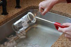Como hacer un vaso de vidrio facil y rapido. - Taringa!