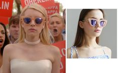 Chanel Oberlin Sunglasses in Scream Queens