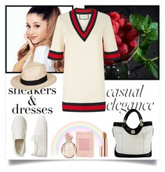 """""""Untitled #1214"""" by misaflowers ❤ liked on Polyvore featuring Gucci, Jill Stuart, Gap, Bulgari, Estée Lauder and Roxy"""