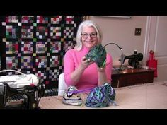 She Sews 2 Pieces Of Fabric, Then She Folds It Into Triangles For An Item You'll Love - DIY Joy
