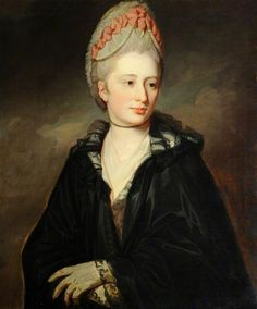 The Honourable Georgiana Peachey (1752–1772), Lady Greville, by George Romney (after). National Trust