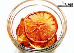 Deshidratar naranjas / limones