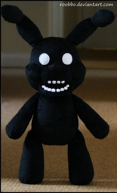 Five Nights At Freddy's  Shadow Bonnie  Plush by Roobbo on Etsy