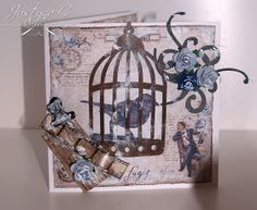 Perfect Crafts: Vintage card for a Man. Vintage Autumn Basics paper collection by Maja Design