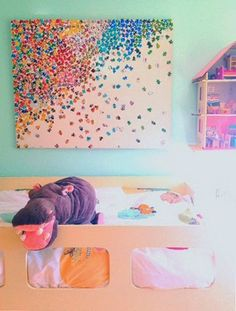 Upcycle Old Puzzles Into Children's Wall Art — Baby Eco Chic