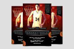 Basket Ball Flyer Template by meisuseno on @creativemarket