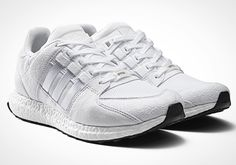 Pairing the classic design of the Equipment Support 93 with adidas' Boost technology the Equipment Support 93/16 is a fluid example of form and function. This execution receives an all over tonal treatment in both white and black colourways and will drop in store and online 4th August. #adidas #adidasoriginals #EQT #equipment #support #equipmentsupport #threestripes #3stripes #trainers #sneakers #BOOST #ultraboost #igsneakers #igsneakercommunity #philipbrownemenswear