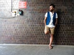 Vest: timeless understated style