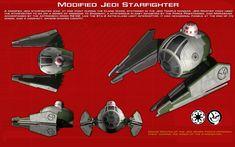 Yoda's modified Jedi Starfighter ortho [New] by unusualsuspex on DeviantArt