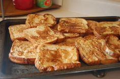 table for seven: Easy French Toast
