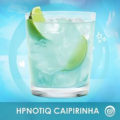 It's delish! Do you REALLY need another reason to celebrate ? Hpnotiq Caipirinha: 2oz Hpnotiq, Splash of White Rum, Lime Wedges #drinks #cocktails #cheers #happyhour