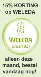 Bestel nu Weleda met 15% korting