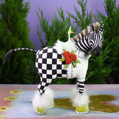 Zelda Zebra Figure