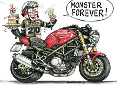 """Monster Forever"" by Luca Ruggeri"