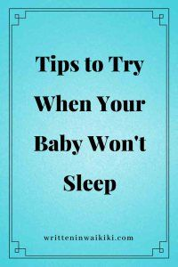 Having a baby who doesn't like to sleep is not fun. Being sleep deprived is utterly exhausting and can rob you from enjoying or remembering time with your baby.