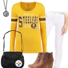 98bcd523d Pittsburgh Steelers Kickoff Outfit Pittsburgh Steelers Football