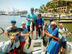 We got them!  Vaya pesca del día! #fish #pez #pesca #fishing #lancha #boat #jackcrevalle #puertovallarta #mexico #mikes_fishing https://www.instagram.com/p/BFzGa-kxZmv/