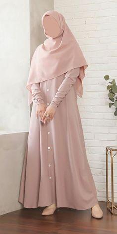 Islamic Fashion, Muslim Fashion, Unique Prom Dresses, Elegant Dresses, Dress Outfits, Fashion Outfits, Hijab Fashion Inspiration, Abaya Fashion, Mode Hijab