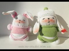 How to Make a Sock Bunny - Tutorials .