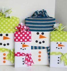 ❤ Hóemberes csokoládé / bonbon csomagolás ❤Mindy -  kreatív ötletek és dekorációk minden napra