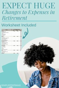 6 expenses will change dramatically in retirement. Use this excel spreadsheet to make sure you are budgeting correctly. Smart money management will lead to a healthier and happier retirement. #budget #financialtips #budgeting #moneymanagement Retirement Budget, Retirement Savings, Happy Retirement, Saving For Retirement, Retirement Planning, Inflation Calculator, Personal Insurance, Tax Haven, Monthly Expenses