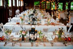 Rustic Bohemian Wedding Decoration Ideas I Like This One. I Think Table  Cloths Are White Plastic With A Cloth Runner.