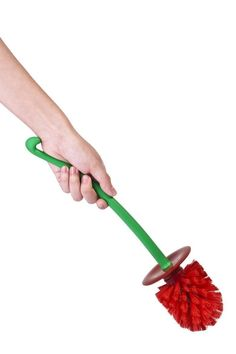 Cherry- Lavatory Brush (Red)